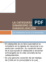 Catequistas y su formación.