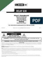 Relay G30 manual