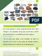 ROCAS IGNEAS Geotecnia