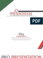 Propresentation red