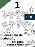 CUADERNILLO DE RECESO ESCOLAR POR CORONAVIRUS