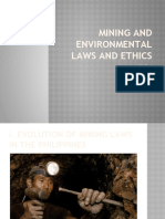 Mining and Environmental Laws and Ethics.pptx