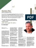 Entrevista a Gustavo Ron