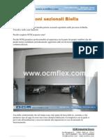 Portoni Sezionali Biella e provincia