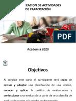 Planificación Academia 2020