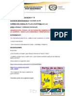 ACTIVIDADES LENGUA y CIENCIAS SOCIALES 5° VISADAS POR DIRECCION