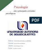 Psicología Definicion y Ramas (chafa)