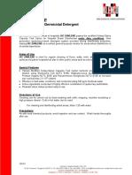 HG SANLENE - Hospital Grade - Disinfectant.pdf