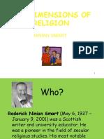 smarts seven dimensions of religion