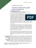 Televisión en Venezuela