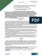 Comparación del marco legal  de las InstitucionesPrivadas de Nivel Superior Mexico -Brasil