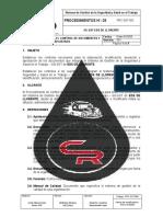 PRC-SST-003 Procedimiento para el Control de Documentos y Registros