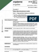 Eurocode 3 Part 1-1 (Fr)