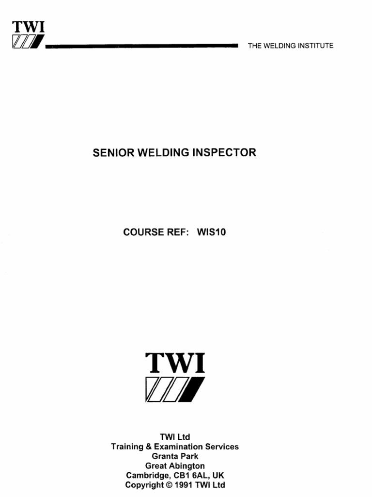 cswip 3 2 rh scribd com Overhead Welding Welding Inspector Salary