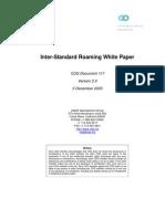 CDG 117 Inter Standard Roaming White Paper Ver2.0