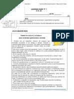 Guía de leng. N° 1 PEDRITO EL CARACOL