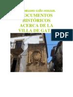 DOCUMENTOS HISTÓRICOS DE LA VILLA DE GATA