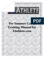 Work Capacity General Fitness Manual for Pre Strength Training