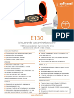e130 Mesureur de contamination saline