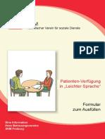 2017-01-16 Patientenverfugung Broschüre