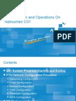 5678Configuration and Operations On NetNumen U31