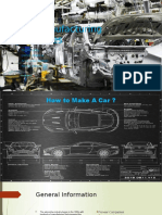 Car Manufacturing Processes Report