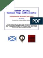 Scottish Cookbook by Clan Mackintosh