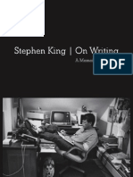 On Writing: A Memoir of the Craft by Stephen King (excerpt)