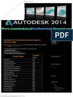 Autodesk 2014 all products universal keygen for Windows  Mac  Freeware Picks  C