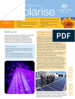 November 2009 Solarrise Newsletter, Australia Solar Cities