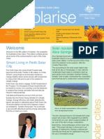 June 2010 Solarrise Newsletter, Australia Solar Cities