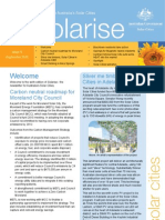 September 2010 Solarrise Newsletter, Australia Solar Cities