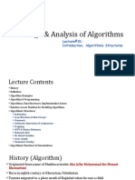 Lecture#01,DAA, Introduction, Algorithmic Structures