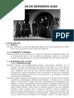 La Casa de Bernarda Alba - Argumento y Analisis