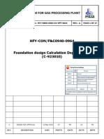 HFY-3800-1600-CIV-RPT-0021_A - Foundation design Calculation Depropaniser (C-923010)