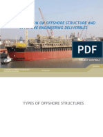Presentation on Offshore Structures and Offshore engineering deliverbles