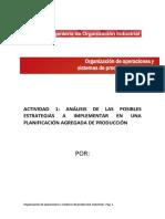 organizacion de operaciones estrategias PAP