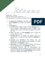 DOUTRINA DO SENHOR
