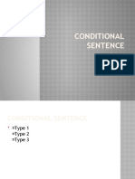 Conditional sentence GROUP 4