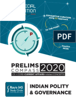 Indian Polity Pre Compass 2020