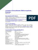 Fachada Extracubriente Hidrorreplente-Sipa-2017.