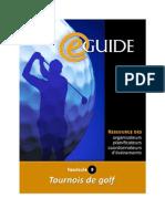 eGuide de l'organisateur de tournois de Golf - Apercu