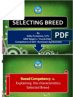 1. Selecting breed