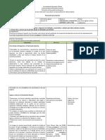 Ejemplo de planeación por proyectos