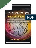 10 Secrets to Brain Health