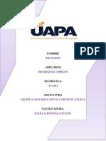 LEGISLACION Y GESTION EDUCATICA V.docx