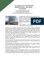 Usage et impacts d'Uranium Appauvri en  Irak