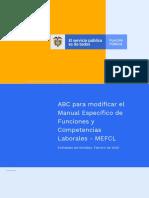 ABC para modificar el Manual Específico de Funciones y Competencias Laborales en entidades territoriales.pdf