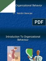 chap1 Organizational Behavior 2020