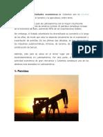 actividades economicas de colombia